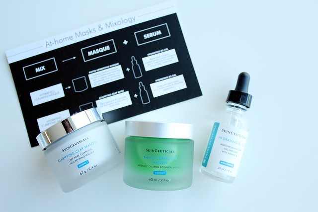 Skinceuticals Clarifying Clay Masque, Phyto Corrective Masque, and Hydrating B5 Gel review