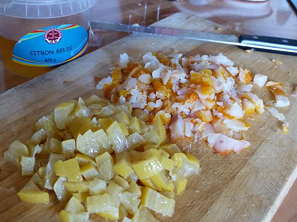 haddock et citron confit
