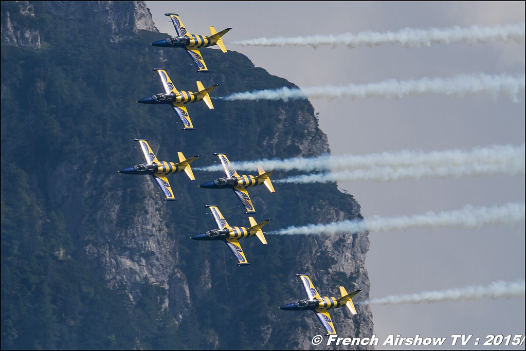 Baltic Bees aerobatic team , L-39 Albatros , Civilian jet display team ,Sankt Wolfgang / St Wolfgang : Austria , scalaria air challenge 2015, Meeting Aerien 2015