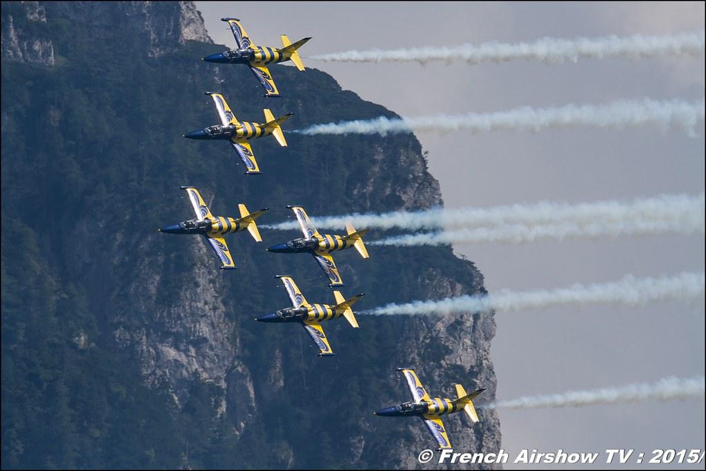 Baltic Bees aerobatic team , L-39 Albatros , Civilian jet display team ,Sankt Wolfgang / St Wolfgang : Austria , scalaria air challenge 2015, Meeting Aerien 2015