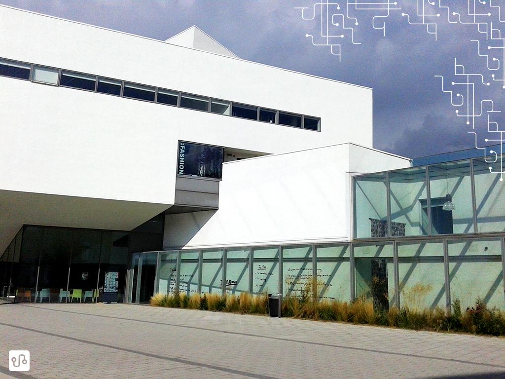 Esse é a AAD  (Arts, Architecture and Design Building) onde a magia acontece
