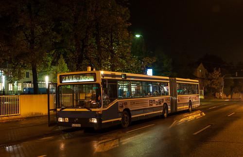 Auch der neuste Museumsbus, ein O405GN, war auf der Linie 07 unterwegs.