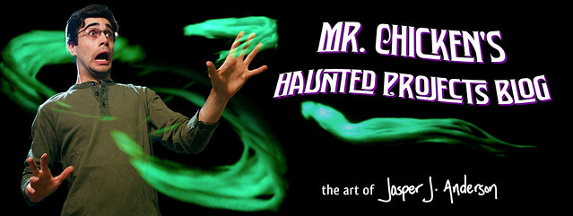 Mr. Chicken's Haunted Projects Blog