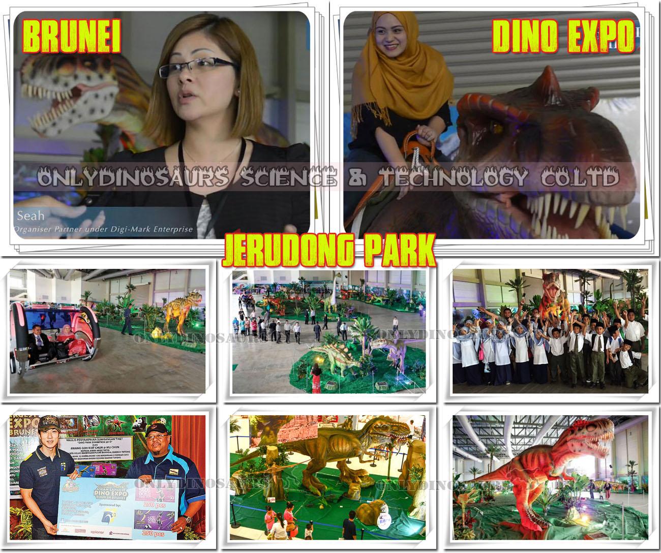 Dinosaur Exhibition in Brunei