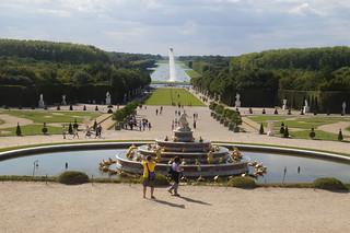 100 Kasteel van Versailles tuinen
