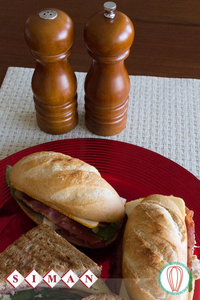 Leftover Turkey Grilled Sandwich