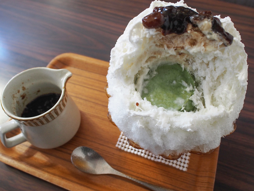Japanese Ice Shaved - Coconut Milk Coffee Ice / (Matcha's Brammantier)