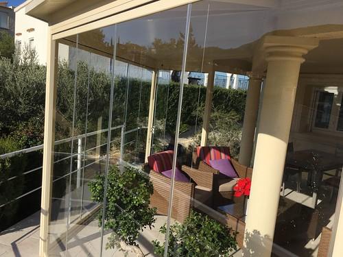 Ampliaci n y cerramiento de terraza exterior con estructur for Cristaleria benissa