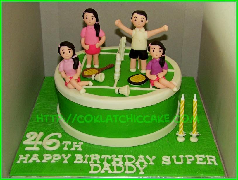 cake badminton