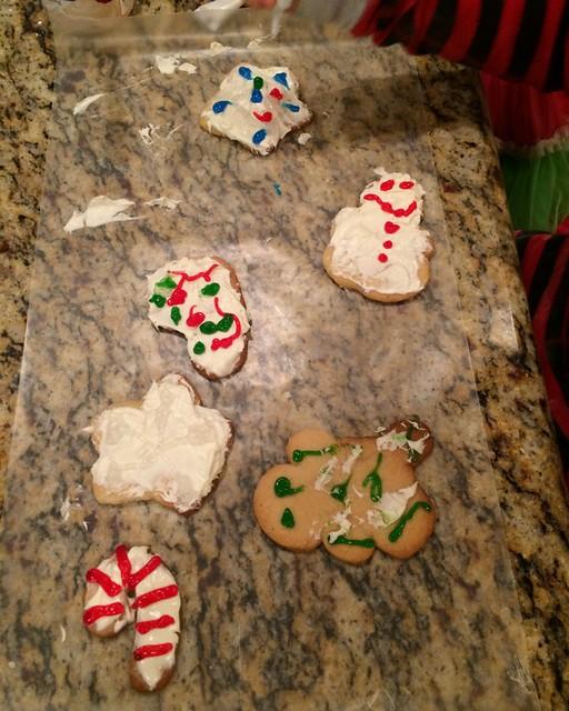 Santa Cookies 20143