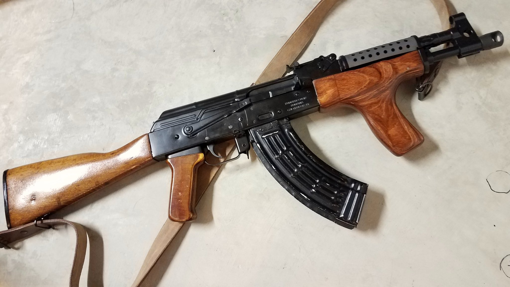 New ak picture thread page 25 ar15 new grip and sling on the draco sbr and some og magazines ak is a vepr ak47 11 altavistaventures Gallery