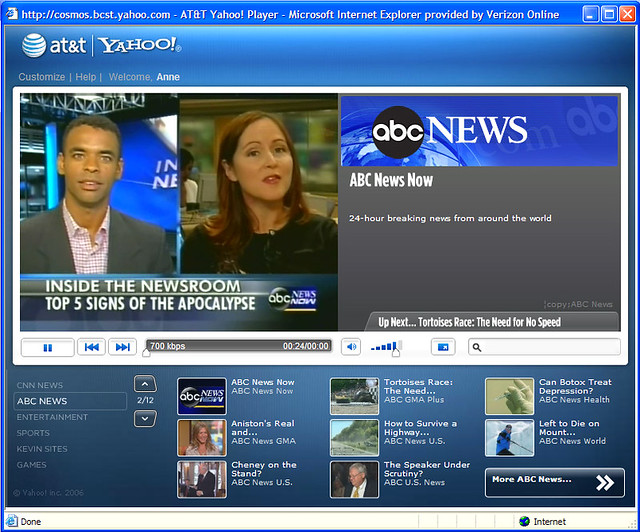 abc news now yahoo buzz  mentary this is a weekly