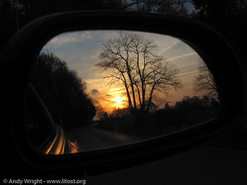 Rear View Sunset 2 | by Litost.