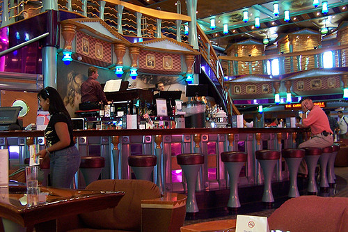Atrium Of The Carnival Miracle Allison Flickr