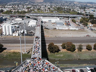 Crowded BART Bridge | by skew-t