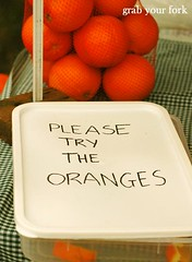Please try the oranges | by Helen (Grab Your Fork)