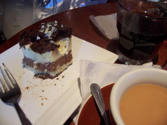 Cafe Cuba Chocolate Silk Cake Recipe