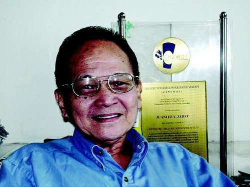 Juanito Jabat | by Cebu Citizens Press Council
