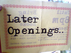 Later Openings | by meriwilliams