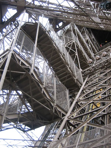 Top Of Eiffel Tower Stairs : Stairs to top of eiffel tower so many but we