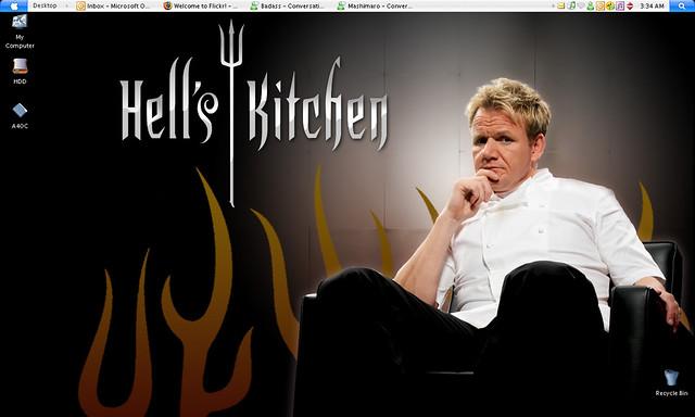 Hell Kitchen Gordon Assitant Chef