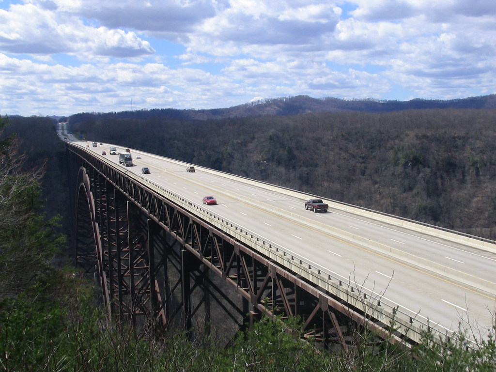 New River Gorge Bridge The Bridge Over The New River