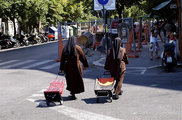 Desperate Nuns in San Lorenzo