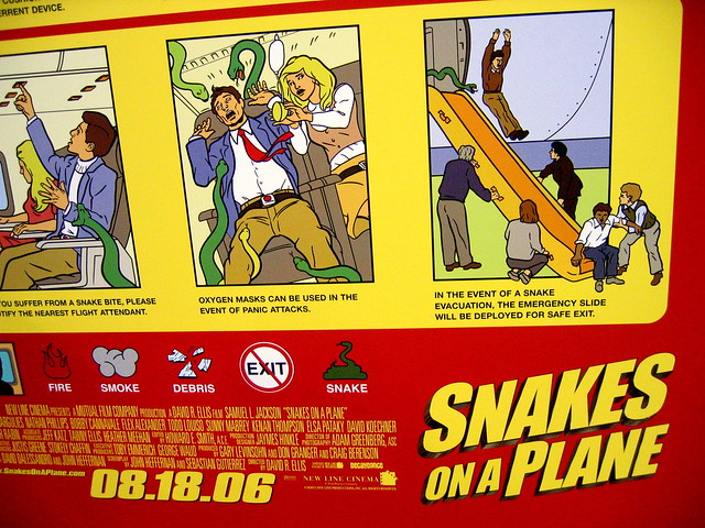 Snakes On A Plane Poster  Flickr - Photo Sharing-9755