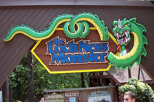 Loch Ness Monster Busch Gardens In Williamsburg Greg Haus Flickr
