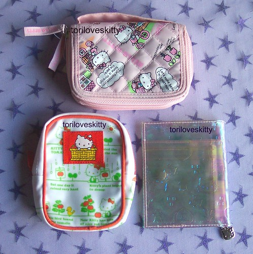 Hello Kitty Pouch & Wallets | by toriloveskitty