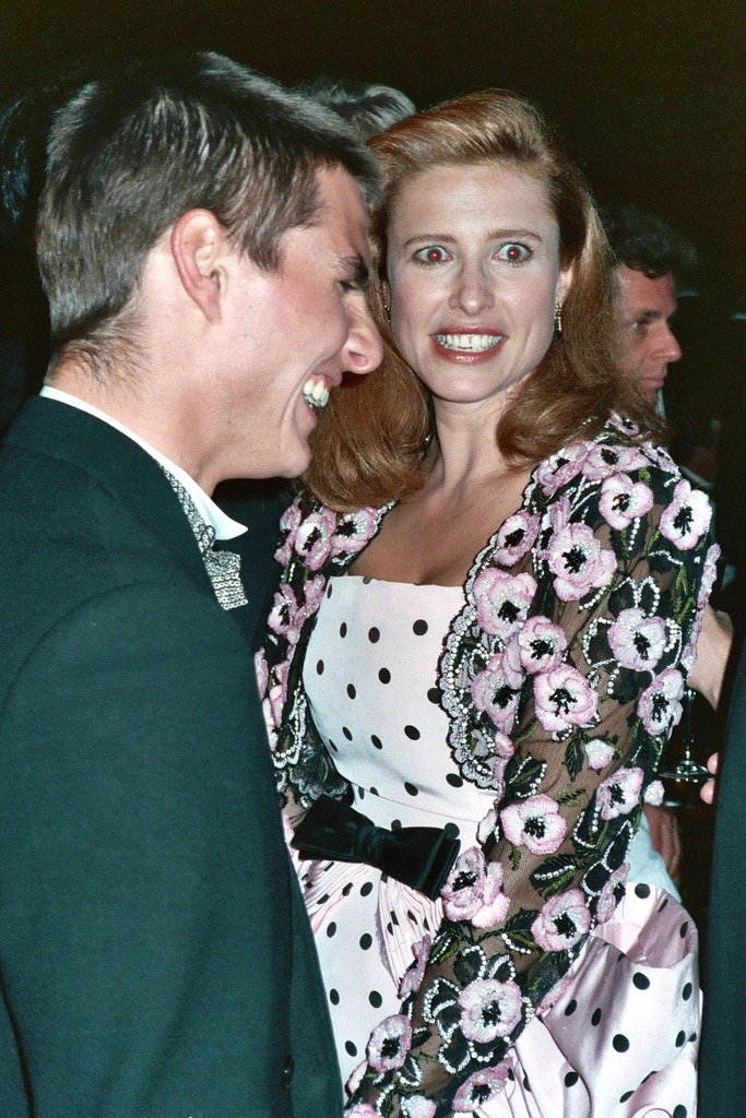 Tom Cruise Mimi Rogers Photo Taken At 61st Academy