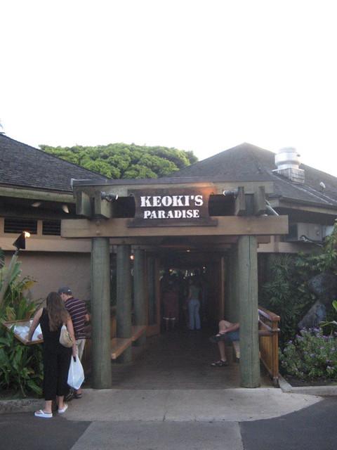 Keoki S Paradise Related Restaurants On Kona Hawaii