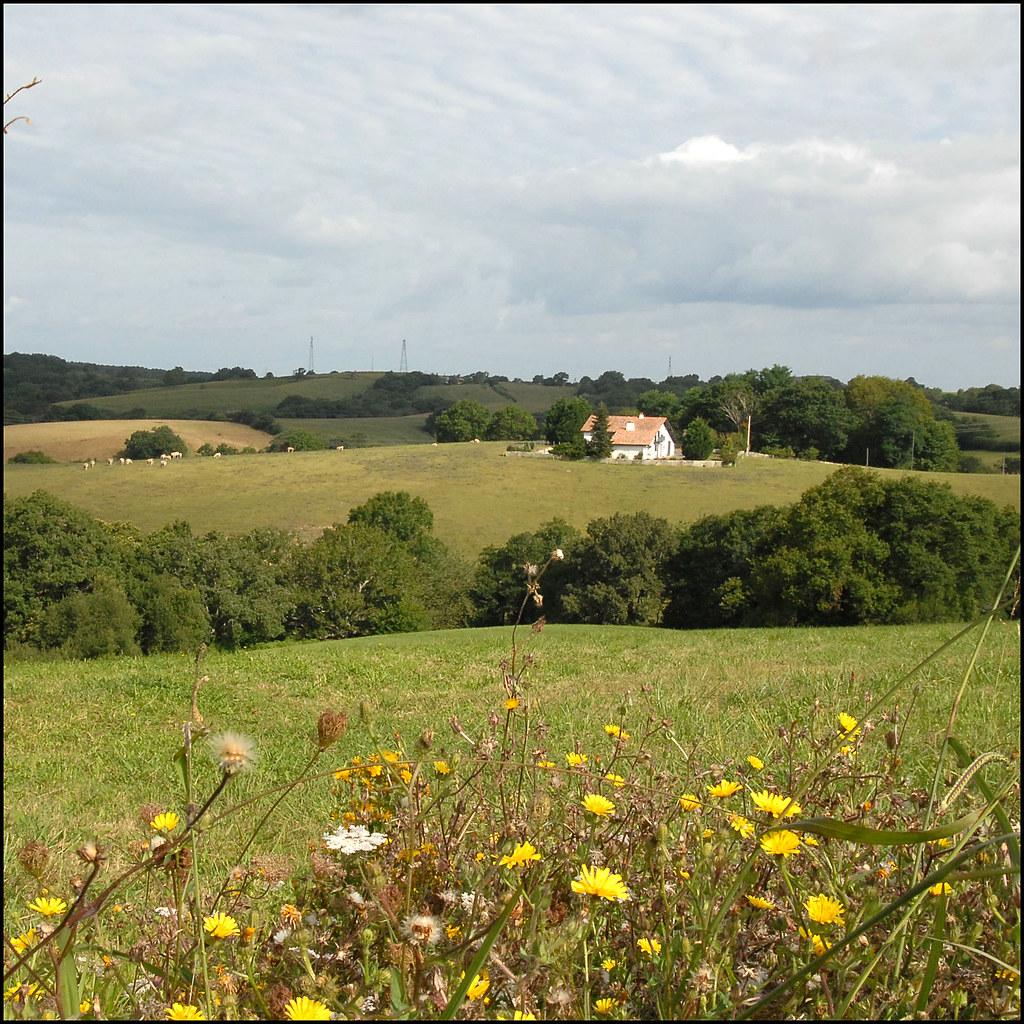 ferme du pays basque a arhetze une ferme dans la montagne alain bachellier flickr. Black Bedroom Furniture Sets. Home Design Ideas