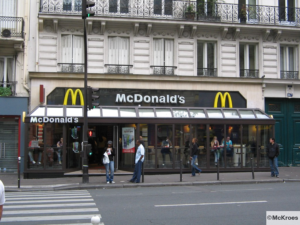 mcdonald 39 s paris 166 rue de rennes france mcdonald 39 s. Black Bedroom Furniture Sets. Home Design Ideas