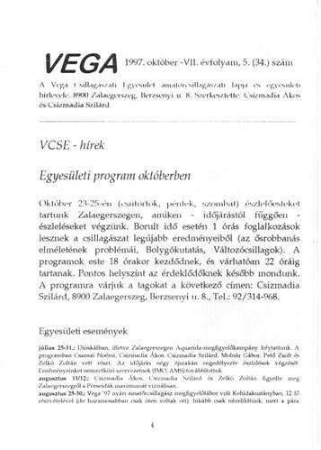 VCSE - VEGA 34