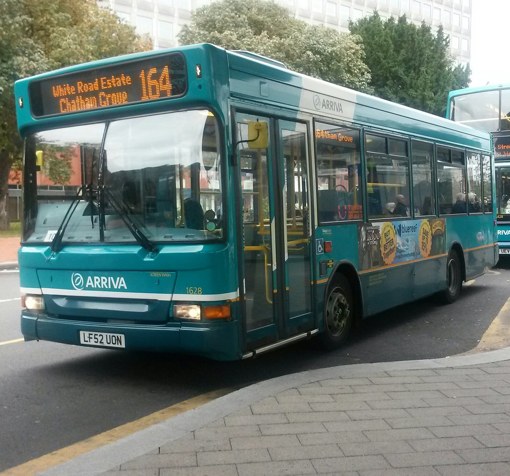 arriva ket & surrey transbus dennis dart 1628 lf52uon on r… | flickr