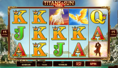 Titans of the Sun - Theia slot game online review