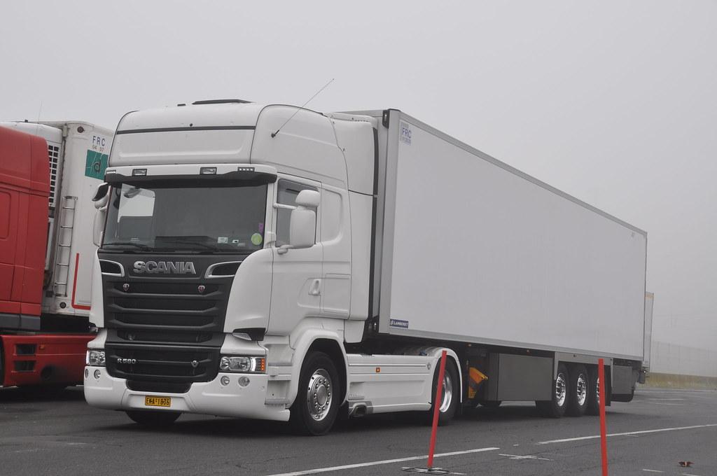 Souvent Scania R580 V8 Topline euro 6. (gr) | MIN de Rungis | ALAIN LE  SS76