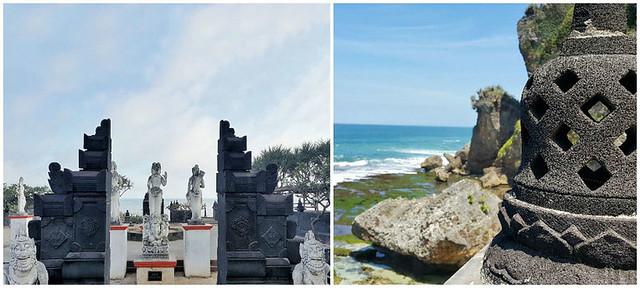 Pantai Ngobaran Beach Temples