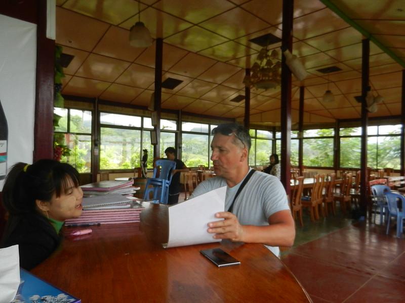 В Мьянме на винодельне