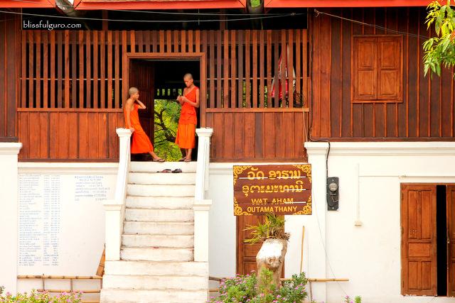 Wat Aham Outama Thany Luang Prabang Laos