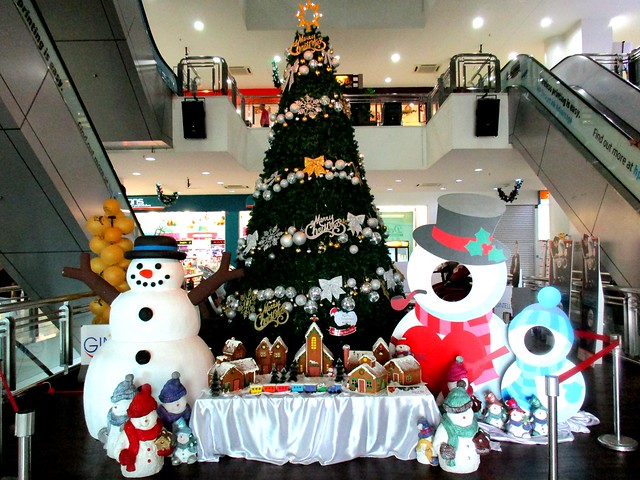 Delta Mall, Sibu Christmas decor