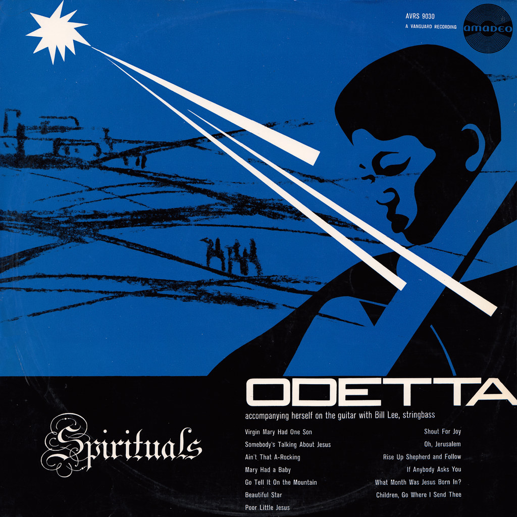 Odetta - Singt Spirituals (aka Christmas Spirituals) | Flickr