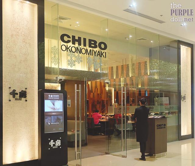 Chibo Okonomiyaki at S Maison Conrad Mall of Asia
