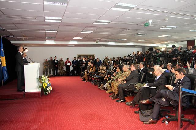 NATO Secretary General visit KFOR