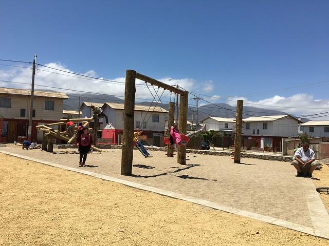 Plaza La Amistad |  Los Vilos | Minera Los Pelambres