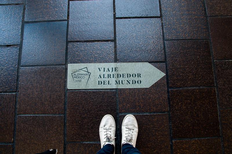 zapatillas de viaje alrededor del mundo