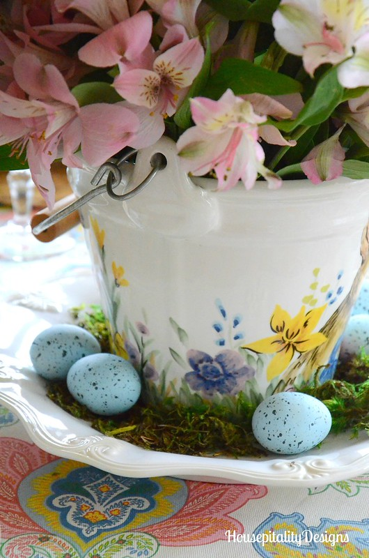 Easter/Spring Floral Arrangement-Housepitality Designs