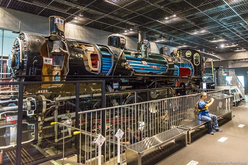 The Railway Museum cerca de Tokio