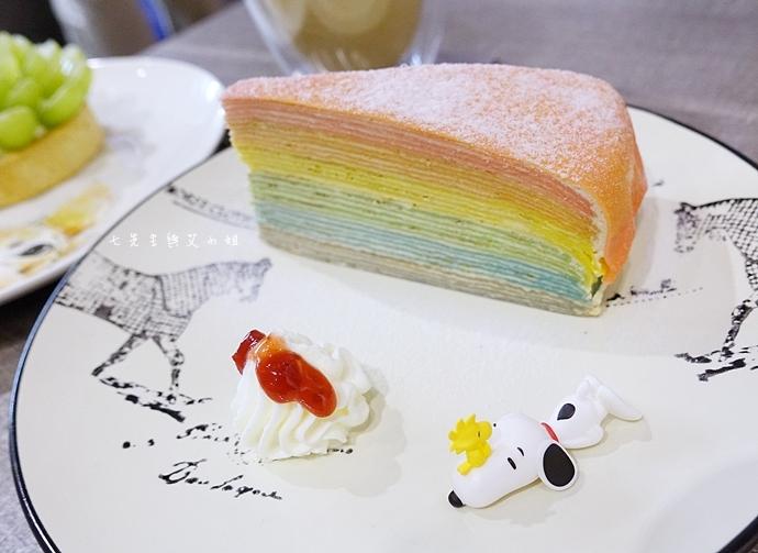 28 翻轉 Flip 彩虹千層蛋糕 水果塔 貓咪棉花糖咖啡
